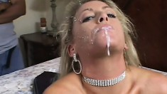 Horny Slut Wife Banged By Two Strangers
