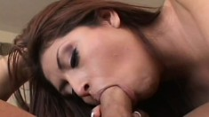 Lena Julliette squeals from getting fucked by his big hard cock