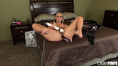 Terrific Phoenix Marie makes a wonderful masturbating masterpiece