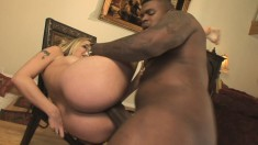 Delilah Strong takes his strong, hammering dick up her butthole