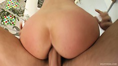 Karera loves it when big boys plow both of her holes simultaneously