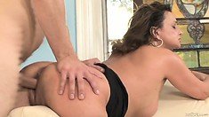 The milf loves to ride that cock as it allows her to enjoy intense pleasure
