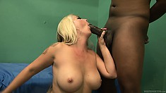 Huge knockers and hairy cunt are the main objectives for hard-on male