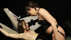 Dazzling Dana Dearmond Deeply Fucks Remy Lacroix With A Strap-on Dildo