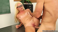 Ashley Stone only goes to school to fuck with everyone within her reach