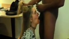 Mom slave to this cock