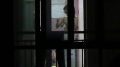 Window Voyeur: Chinese Neighbor Tits