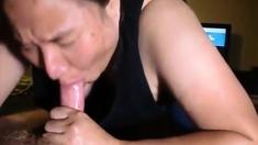 Amateur Chbby Mature Cum In Mouth