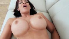 Milf fucks kitchen counter Ryder Skye in Stepmother Sex