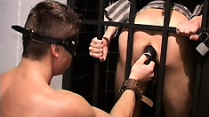 Gay prisoners in role playing suck cock and bang some tight ass