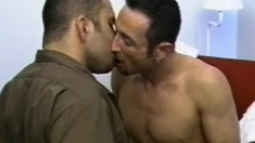 Rogue and Paul exchange oral pleasures and engage in passionate gay sex