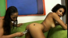 Krystal and Misty Stone Have Exploding Orgasms
